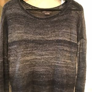 Vince sweater in grey hues with sporadic sequins